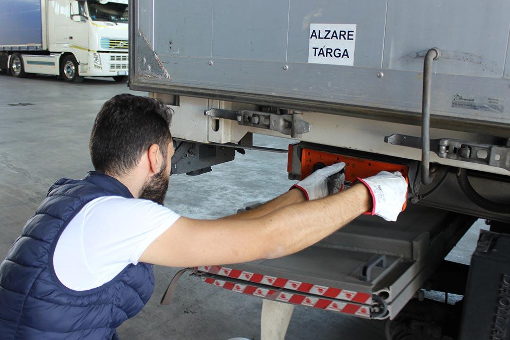trasportatore manutenzione
